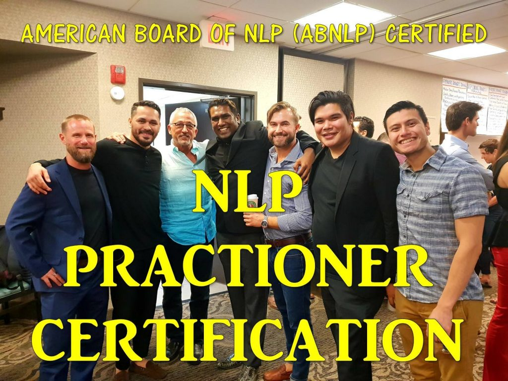 NLP Practitioner Certification - To Coach To Empower